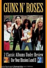 Guns N' Roses 2 Classic Albums Under Review Use Your Illusion I and II DVD 2007