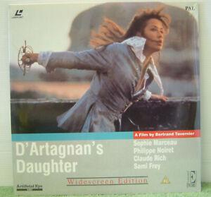 D'Artagnan's Daughter 1994 PAL Laser Disc,Sophie Marceau, Philippe Noiret EE1099