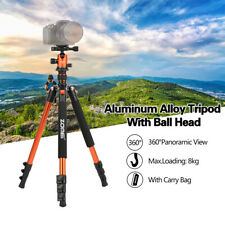 Zomei Professional Aluminium Tripod Ball Head Q555 Travel For Canon Nikon Camera
