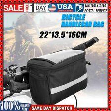 Cycling Bicycle Insulated Front Bag MTB Bike Handlebar Bag Bicycle Equipment