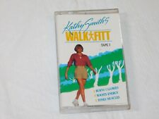 Kathy Smith's Walk Fitt Tape 1 Cassette Tape 1992 Burns Calories Boosts Energy