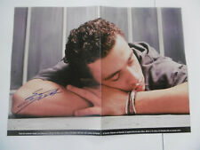 Eros Ramazotti Autogramm signed 31x42 cm Poster gefaltet