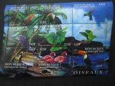 Central Africa  2001 birds  sheetlet  SCOTT No.1408  I201807