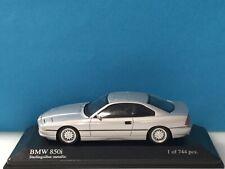Minichamps 1:43 BMW 8-Series 1991 Silver Modell Nr. 431 025221