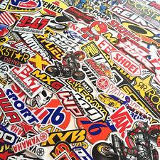 250 Random Mixed Stickers Decal Motocross Motorcycle Car ATV Racing Bike Helmet