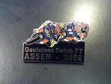 Pin Gauloises Dutch TT Assen 2002 (zwart)