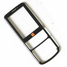 100% Genuine Nokia 6700c front fascia housing+screen glass black metal classic