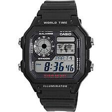 Casio AE1200WH-1AV, Digital Watch, Chronograph, Alarm, Day/Date, 10 Year Battery