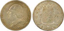 Louis XVIII, 5 francs buste nu, 1822, A = Paris, TTB+ !! - 1