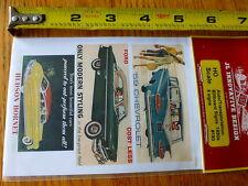 JL Innovative Design HO #193 Auto/Transportation Billboard Signs 1950s (6 Signs)
