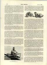 1896 Jarvist Arnold Leonard Steele Jake Gaudaur Rowing
