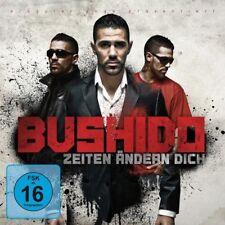 """BUSHIDO """"ZEITEN ÄNDERN DICH"""" CD+DVD PREMIUM EDT NEU"""