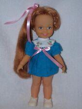 Vintage Ideal  Grow Hair Doll Cinnamon From The Crissy Family