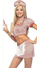 NEW CANDY STRIPER Costume womens small - Rubies Secret Wishes 888143