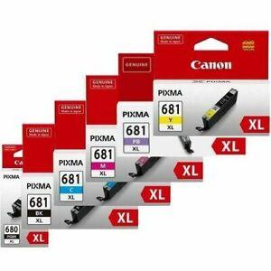 Canon Genuine PGI-680XL/CLI-681XL Ink Set TR7560/TR8560/TS6160/TS8160/TS9160