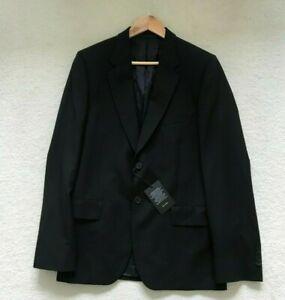 Paul Smith MAYFAIR Travel Blazer Jacket in BLACK Size 40