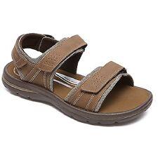 Rockport Men's Get Your Kicks Quarter Strap Tan Sandals V79636 --