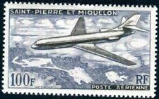 ST PIERRE et MIQUELON 1957 Yvert PA 25 ** POSTFRISCH TADELLOS FLUGPOST (F4327