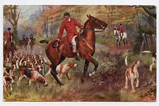 DRUMMOND . La chasse à COURRE . THE HUNT DAY