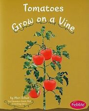 Tomatoes Grow on a Vine (Pebble Books: How Fruits and Vegetables Grow)