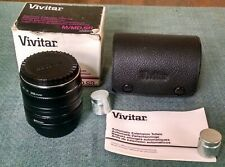 Vivitar Automatic Extension Tube Set 36mm,12mm,20mm Made in Japan
