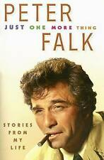 Just One More Thing, Good Condition Book, Falk, Peter, ISBN 9780786719396