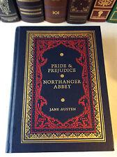 Pride & Prejudice : Northanger Abbey by Jane Austen - illus. leather bound - VG+