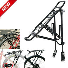 Alloy Bike Luggage Cargo Mount Rear Rack Bicycle Cycling Accessories Aluminum US