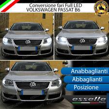 KIT FARI FULL LED VW PASSAT B6 ANABBAGLIANTI ABBAGLIANTI POSIZIONE LED CANBUS