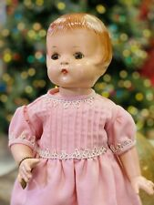 "19"" Effanbee Patsy Ann Composition Doll Sleep Eyes with Bracelet Vintage"