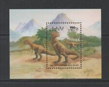 Thematic Stamps Prehistoric - SAHARA 1992 PREHISTORIC MIN SHEET mint