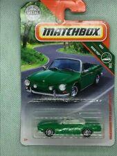 Matchbox 2016 MBX Adventure City Volkswagen Karmann Ghia 29//125 Light Green