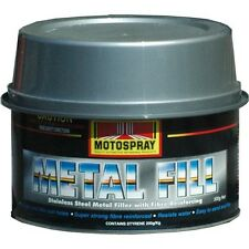 PROFESSIONAL AUTOMOTIVE STAINLESS REINFORCED BODY FILLER PUTTY 500g RUSTRY HOLE