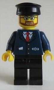 LEGO Zug / Train - Bahn-Mitarbeiter / Railway Employee, # trn223