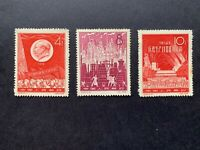 P.R. China 1959 C58 Scott 402-404 Iron and Steel Production Full Set MNH.