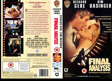 Final Analysis - Richard Gere - Used Video Sleeve/Cover #17253