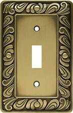 64049 Paisley Single Toggle Switch Wall Plate Switch Plate Cover