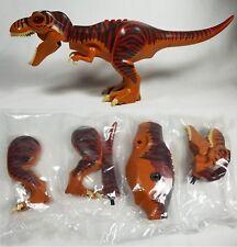 NEW Lego T-Rex Tyrannosaurus Rex Minifigure - Jurassic World Park Dinosaur 5886