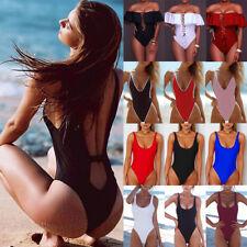 Sexy Women Brazilian Monokini Bikini Swimsuit Beach Thong Bathing Swimwear AP