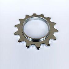 Novatec Sprocket - 14T - Fixie, BMX, Track Bike - Silver - Screw-On Cog