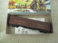 Vintage HO Scale Athearn Pennsylvania 50' Express Reefer Car in Box 5334