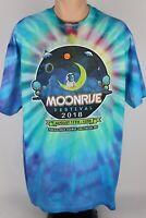 Moonrise Festival 2018 Baltimore, MD Men's XL Tie Dye Graphic Concert T Shirt