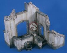 Verlinden 1/35 Ruined Countryside Mansion Section [Plaster Diorama Model] 2394