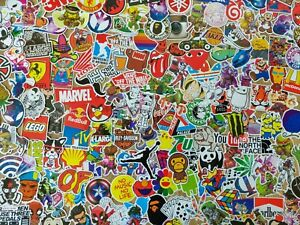25 SKATEBOARD STICKERS  STICKER PACK DECAL BOMB HYPEBEAST LAPTOP LUGGAGE SCOOTER