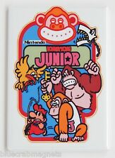 Donkey Kong Jr. Side Art FRIDGE MAGNET (2 x 3 inches) arcade video game junior