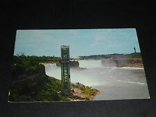 General View of Niagara Falls Observation Tower Ontario Canada Postcard 1964
