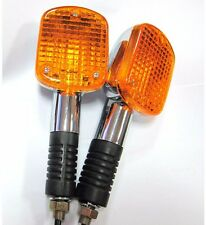 2 X FRONT Turn Signal Lights For Honda VF1100C CB1000C CB650SC VF700C VF750C NEW
