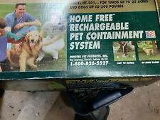 INNOTEK Home Free HF-201 Rechargeable Pet Containment System New opened for pics