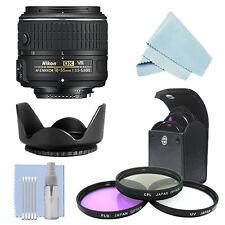 Nikon 18-55mm f/3.5-5.6G VR Lens + Kit for D3300 D3400 D5300 D5500 D7100 D500