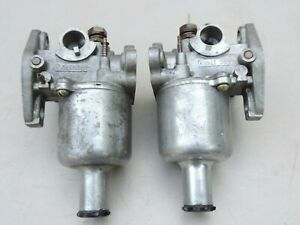Vintage Pr SU Carburetor AUC 1341 AUC 1342 JAGUAR MG TRIUMPH HEALEY MINI COOPER